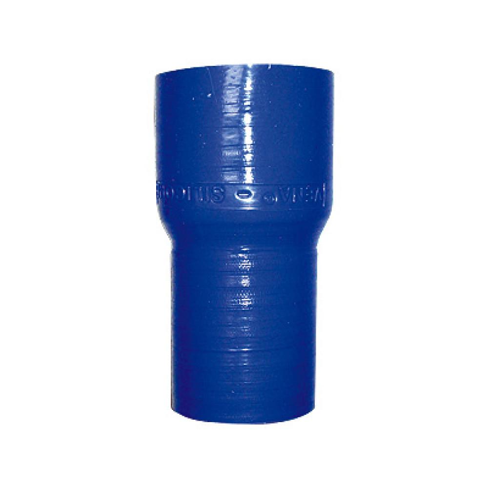 Reducteur silicone Venair 35x28mm - coloris bleu - longueur 102mm