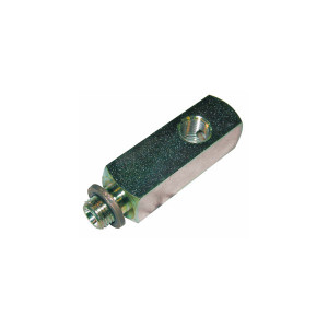 Adaptateur de filetage T male 1/8BSP/femelle 1/8BSP/femelle M10x100