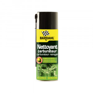 Additif Bardahl nettoyant spray carburateur 400 ml