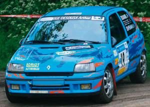 Aile Avant droit Renault Clio 1 16S fibre