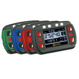 Alfano ADSGPSi chronometre, compteur de tour, GPS, noir Nouveau Modèle