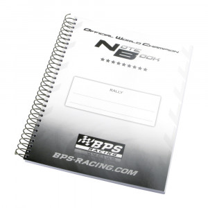 Cahier de note BPS Rallye NoteBook
