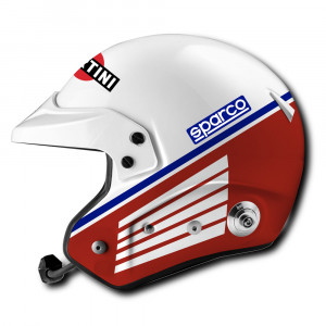 Casque jet Sparco AIR Pro RJ-5i Martini Racing Heritage FIA 8859-2015