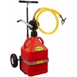 Chariot Refuelling 56l TT (1 bidon 56l rouge + 1 chariot + 1 pompe)