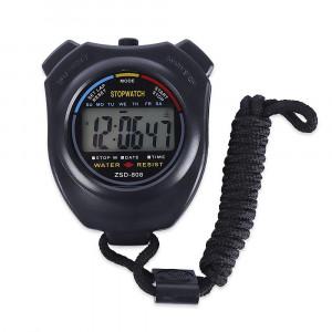 Chronomètre BPS SportWatch avec fonction chrono, heure, date, alarme