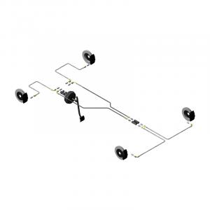 Circuit hydraulique Gr.N Peugeot 106/Saxo double