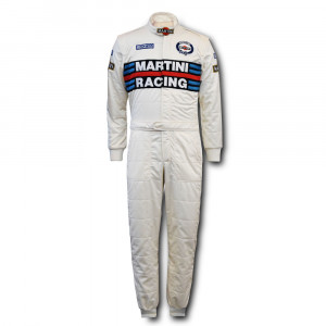 Combinaison Sparco Martini Racing Heritage Edition 2020 FIA 8856-2000