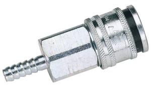 Coupleur d'air à emmancher pour tuyau diamètre intérieur 6 mm