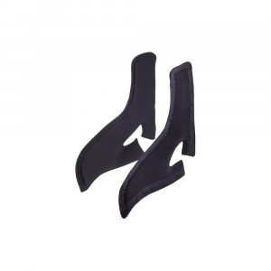 Coussins latéraux pour siège OMP HRC coloris noir