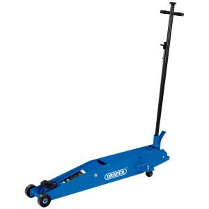 Cric roulant pro 3 tonnes levage 140 à 620mm avec pédale quick lift