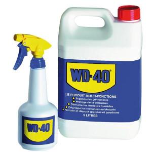 Dégrippant lubrifiant WD40 Bidon de 5 litres