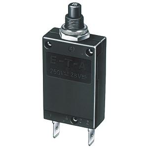 Disjoncteur, interrupteur thermique type 257  5A ( Percage Diam 9 mm )