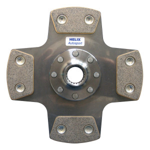 Disque embrayage 184 mm 23 Dents x 1 Rigide 4 patins Sadev Helix
