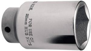 Douille pour écrou de moyeu 35mm 6 pans carré 1/2 PSA