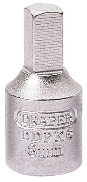 Embout carré 8mm pour Renault et PSA pour bouchon de vidange