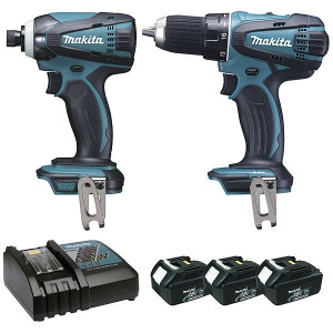 Ensemble 2 machines 18v Makita
