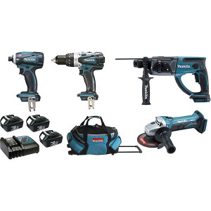 Ensemble 4 machines 18v LXT Makita