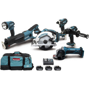 Ensemble 6 machines 18v LXT Makita