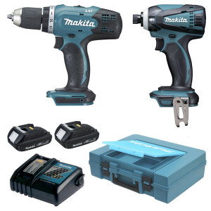 Ensemble MAKSTAR 2 machines LXT 18v Makita