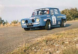Face avant Renault 8 Gordini fibre