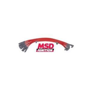 Faisceau d'allumage Super Conductor MSD Ford 351C-460, w/HEI Cap