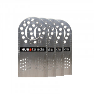 Fausses roues - hub stand - 4 platines 5x130, 5x114.3, 5x120mm seules