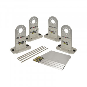 Fausses roues - hub stand - kit avec platines 5x130, 5x114.3, 5x110mm