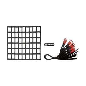Filet anti-défenestration OMP Noir 50x70cm - FIA