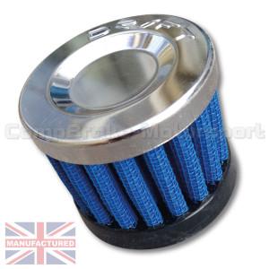 Filtre à air cylindrique entrée Diam 20 / Diam 40 / H 40 (reniflard)