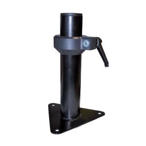 Fixation acier roue de secours longueur 25 cm