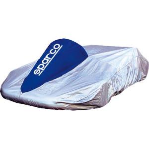 Housse de Kart Sparco aluminisée avec séparation du volant