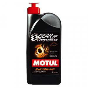 Huile Motul Gear FF Competition 75W140 boite pont 100% Synthese 1L