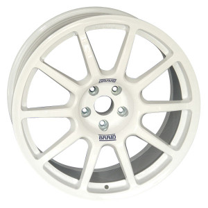 Jante Braid Fullrace A Subaru 8x18 5x114.3 ET48 56mm blanc