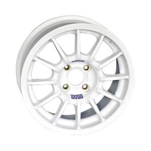 Jante Braid Winrace A Peugeot 7x16 4x108 ET28 65mm blanc