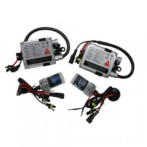 Kit conversion HID Xenon 2 phares 881 12V 35W 6000K Moto