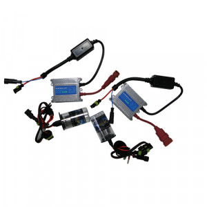 Kit conversion HID Xenon 2 phares HS1 12V 35W 6000K Ballast Slim Moto