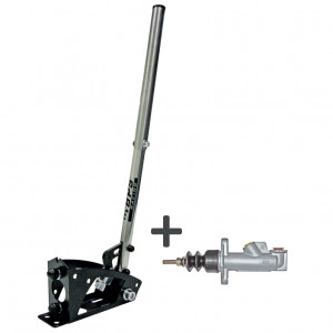 Kit frein à main hydraulique vertical/horizontal acier/inox complet