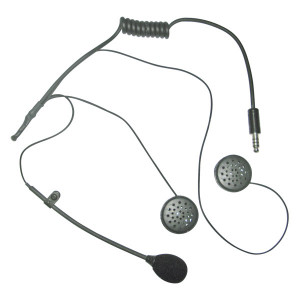 Kit micro/écouteurs - radio Peltor - casque jet