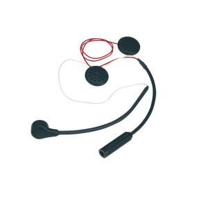 Kit micro/écouteurs - radio Stilo WRC/ST30 - casque jet