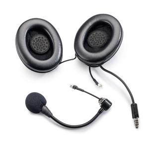 Kit micro/écouteurs - Sabelt -coquilles -casque Jet - prise Nexus