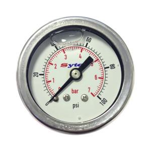 Mano de pression d'essence 0>7 Bar/120 PSI 1/8 NPTF