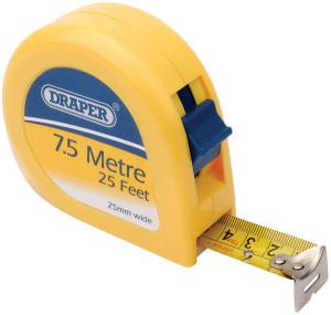 Mètre ruban Draper 7,5m