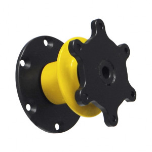 Moyeu de volant escamotable BPS RS base plate - à visser - 6 trous