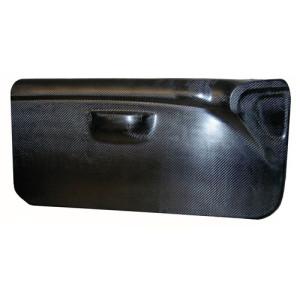 Panneau de porte Peugeot 206 carbone gauche