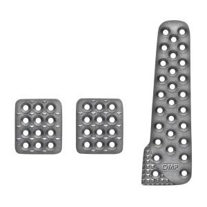 Pédalier OMP Aluminium 3 pédales