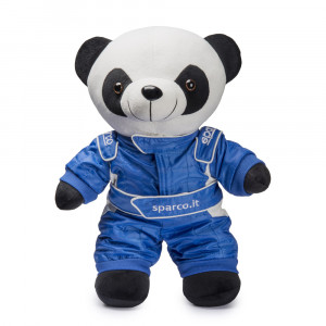 Peluche Panda Sparco Sparky peluche Mascotte