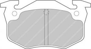 Plaquettes Carbone Lorraine 4034 Clio/R5GT/309/306/206/205 AR RC5+
