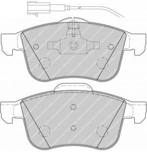 Plaquettes de frein Ferodo DS Perf ALFA ROMEO 159 07> Avant FDS1805