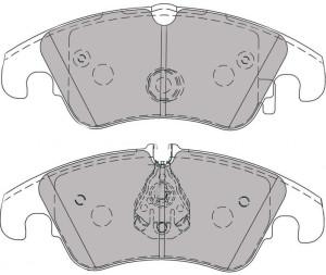 Plaquettes de frein Ferodo DS Perf Audi A4 > 2009 avant FDS4044