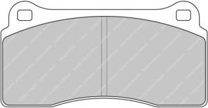Plaquettes de frein Ferodo DS Perf AUDI R8 309 2004> Arrière FDS1281